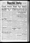 Spartan Daily, October 12, 1937 by San Jose State University, School of Journalism and Mass Communications