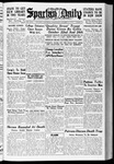 Spartan Daily, October 13, 1937