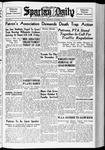 Spartan Daily, October 14, 1937 by San Jose State University, School of Journalism and Mass Communications