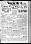 Spartan Daily, October 18, 1937 by San Jose State University, School of Journalism and Mass Communications