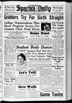 Spartan Daily, October 22, 1937 by San Jose State University, School of Journalism and Mass Communications