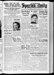 Spartan Daily, October 26, 1937 by San Jose State University, School of Journalism and Mass Communications