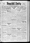 Spartan Daily, November 9, 1937 by San Jose State University, School of Journalism and Mass Communications
