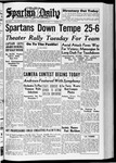Spartan Daily, November 22, 1937 by San Jose State University, School of Journalism and Mass Communications