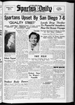 Spartan Daily, November 29, 1937 by San Jose State University, School of Journalism and Mass Communications