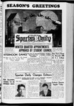 Spartan Daily, December 9, 1937 by San Jose State University, School of Journalism and Mass Communications