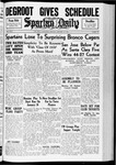 Spartan Daily, January 10, 1938 by San Jose State University, School of Journalism and Mass Communications