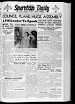 Spartan Daily, January 11, 1938 by San Jose State University, School of Journalism and Mass Communications