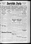 Spartan Daily, January 13, 1938 by San Jose State University, School of Journalism and Mass Communications