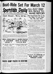 Spartan Daily, January 17, 1938 by San Jose State University, School of Journalism and Mass Communications