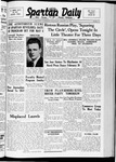 Spartan Daily, January 26, 1938 by San Jose State University, School of Journalism and Mass Communications