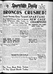 Spartan Daily, February 22, 1938 by San Jose State University, School of Journalism and Mass Communications
