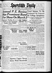 Spartan Daily, February 28, 1938