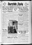 Spartan Daily, March 31, 1938 by San Jose State University, School of Journalism and Mass Communications