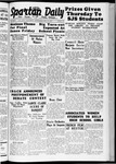Spartan Daily, May 25, 1938 by San Jose State University, School of Journalism and Mass Communications