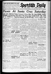 Spartan Daily, June 1, 1938 by San Jose State University, School of Journalism and Mass Communications