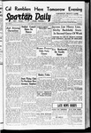 Spartan Daily, September 22, 1938 by San Jose State University, School of Journalism and Mass Communications