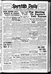Spartan Daily, September 27, 1938 by San Jose State University, School of Journalism and Mass Communications