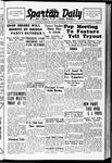 Spartan Daily, September 27, 1938
