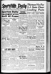 Spartan Daily, October 3, 1938 by San Jose State University, School of Journalism and Mass Communications