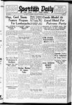 Spartan Daily, October 06, 1938