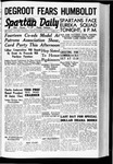 Spartan Daily, October 7, 1938 by San Jose State University, School of Journalism and Mass Communications