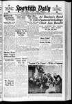 Spartan Daily, October 12, 1938 by San Jose State University, School of Journalism and Mass Communications