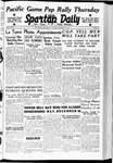Spartan Daily, October 18, 1938