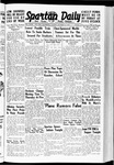 Spartan Daily, October 25, 1938 by San Jose State University, School of Journalism and Mass Communications