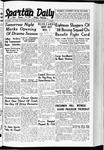 Spartan Daily, October 26, 1938