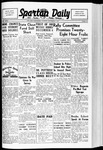 Spartan Daily, November 1, 1938 by San Jose State University, School of Journalism and Mass Communications