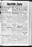 Spartan Daily, November 3, 1938 by San Jose State University, School of Journalism and Mass Communications