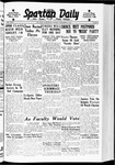 Spartan Daily, November 8, 1938 by San Jose State University, School of Journalism and Mass Communications