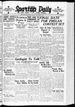 Spartan Daily, November 29, 1938