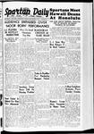 Spartan Daily, December 02, 1938