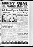 Spartan Daily, December 8, 1938 by San Jose State University, School of Journalism and Mass Communications
