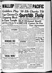 Spartan Daily, January 13, 1939 by San Jose State University, School of Journalism and Mass Communications