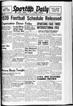 Spartan Daily, March 1, 1939 by San Jose State University, School of Journalism and Mass Communications