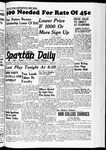 Spartan Daily, March 9, 1939