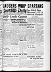Spartan Daily, April 18, 1939 by San Jose State University, School of Journalism and Mass Communications