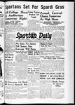 Spartan Daily, May 4, 1939 by San Jose State University, School of Journalism and Mass Communications