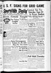Spartan Daily, May 11, 1939 by San Jose State University, School of Journalism and Mass Communications