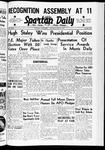 Spartan Daily, May 25, 1939