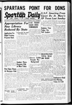 Spartan Daily, September 21, 1939 by San Jose State University, School of Journalism and Mass Communications