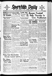 Spartan Daily, September 26, 1939 by San Jose State University, School of Journalism and Mass Communications