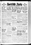 Spartan Daily, October 11, 1939