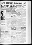 Spartan Daily, October 30, 1939 by San Jose State University, School of Journalism and Mass Communications