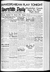 Spartan Daily, November 1, 1939 by San Jose State University, School of Journalism and Mass Communications