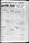 Spartan Daily, November 1, 1939