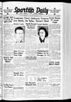 Spartan Daily, November 2, 1939 by San Jose State University, School of Journalism and Mass Communications